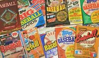ESTATE SALE Baseball Cards Over 100 Mint Cards in Unopened Packs- FREE POSTAGE!