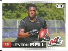 2013 SAGE Hit Next Level Le'Veon Bell rookie card, Pittsburgh Steelers