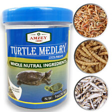 Aquatic Turtle Medley Treat Food For Turtle, Aquatic Fishes, Newts and Frogs