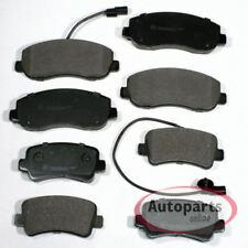 Nissan NV400 - Bremsbeläge Bremsklötze Warnkontakt für vorne hinten*