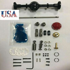 Metal Rear Axle Upgrade kit for WPL D12 RC Truck OEM Parts #A040 Us Seller