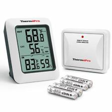Digital Hygrometer Indoor Outdoor Thermometer Temperature Wireless Humidity Mete