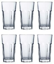6x Quality aras PARTY glassware MOJITO COCKTAIL HIGHBALL CLEAR drinking GLASSES