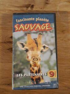 Cassette VHS Fascinante Planète Sauvage,  Les Partenaires.