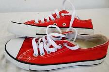 CONVERSE 8A0612 Classic All Stars Low-Rise Shoe  RED   UK 3.5 /Eur 36      490 Y