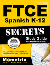 FTCE Spanish K-12 Secrets Study Guide