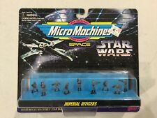 Vintage Galoob Micro Machines Star Wars Imperial Officers! FREE shipping!
