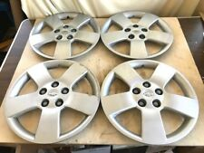 "Original Chevrolet Hubcap Set of 4 16"" Bolt-On Hubcaps Wheel Covers Inc Bolts"