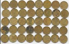 Dealer Flea Market Lot 40 Mixed Date Greece Greek 2 Drachmai Coins 1976-1986