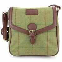 Bag Shoulder Handbag Cross Body Crossbody Tweed Satchel Green Wool Hawkins