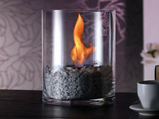 Edles Design Lounge Feuer mit Bio-Ethanol Dekofeuer,Glasfeuer,Tischfeuer,