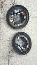 FORD FIESTA MK6 PAIR OF BACK PLATES 2002 to 2008 WITH ADJUSTERS DRUM