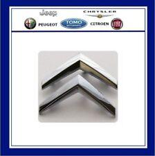 CITROEN C3 Hatch Silver Chevrons Front Grill Badge/emblem Genuine 7810P6