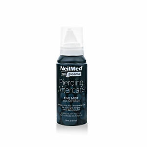 Piercing Aftercare 2.53 fl oz Antiseptic Spray - For Use with Ear, Belly, and Ni