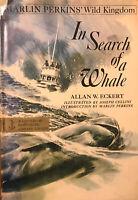 ALLAN W. ECKERT 1970 1st. Ed. IN SEARCH OF A WHALE. Hbk VG w Dj VG+ Excellent