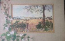 Artist Vintage Landscape Art