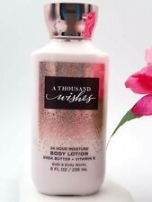 Bath and Body works A THOUSAND WISHES Body LOTION cream Shea  8 oz *NEW