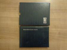 Rolls Royce Silver Seraph Owners Handbook/Manuel et portefeuille