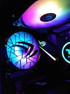 PC Fan Grill - NVIDIA Design - 120mm - Suit Custom RGB Gaming PC