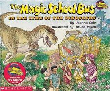 The Magic School Bus In The Time Of The Dinosaurs (Magic School Bus)-ExLibrary