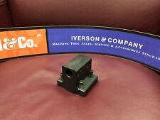 """HARDINGE CS-46 Double Round Shank Tool Holder 3/4"""" RD for C42 (0T) CNC Lathe"""