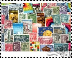 Luxembourg : 200 Different Stamps Mixture