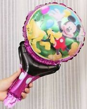 Mickey Mouse balloon with Handle x10pcs 1st choice Birthday Lolly Gifts AU Stock