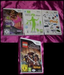 Zumba Fitness Core + Wii Play + Wii Fit Plus = Spielesammlung Lot Konvolut Wii U