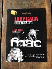 Lady Gaga Carte Fnac Born This Way Collector