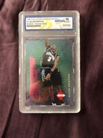 1996 Collector's Edge Rookie Rage Allen Iverson 76ers WCG GEM-MT 10 Very Rare