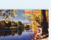 Indian Summer Ayers Cliff Quebec Postcard