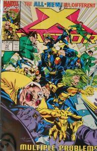 X-Factor #73  MULTIPLE PROBLEMS!! Marvel Comics December 1991
