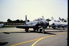 3/595 Lockheed T-33 Royal Canadian Air Force Kodachrome SLIDE