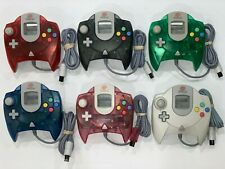 Sega Dreamcast Controller Genuine OEM (Choose Your Color) White Blue Green Red..