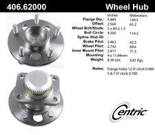 Wheel Bearing and Hub Assembly-4-Wheel ABS Rear Centric 406.62000E