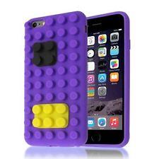 Étuis, housses et coques violet transparent en silicone, caoutchouc, gel pour téléphone mobile et assistant personnel (PDA)