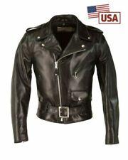 Cappotti e giacche da uomo SCHOTT pelle