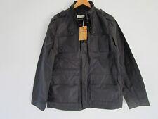 Just Jeans Men's Premium Black Coated Lined Jacket  Size: M
