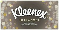 Kleenex Ultra Soft Regular White Tissues 80 per pack x4