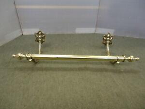 Vintage Brass Rail