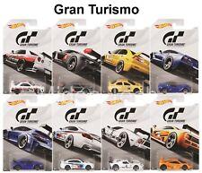 "Hot Wheels 2018 Gran Turismo ""The Real Driving Simulator"" Set of 8 Diecast Car"