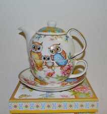 TeaforOne Teekanne Eulen mit Geschenkbox