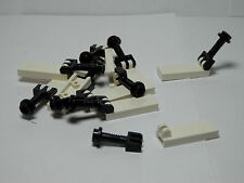 LEGOS 10 White 1 X 2 1/2 Hinge Tile and Bar Complete Assembly Star Wars