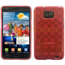 Gel TPU Silicon Pink Case Cover For Samsung Galaxy S2 i9100 UK