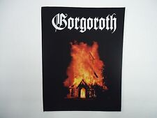 GORGOROTH BURNING CHURCH BACK PATCH