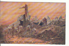 "WW1 Clearing the way through Contalmaison ""Daily Mail"" War Pictures"