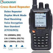 Wouxun KG-UV8D Plus Duplex Cross Band Repeater DTMF VHF UHF 999CH Two Way Radio