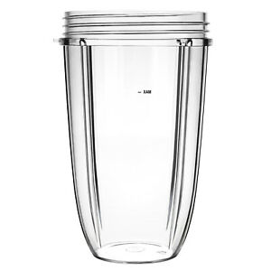 24 OZ Tall Large Cup Juicer Cup Part Mug Replacement For NutriBullet Blender USA