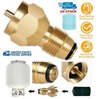 Camping Stove Butane Gas Metal Adapter Convert Fuel Canister for Long Gas .UK