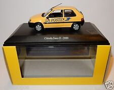 UH UNIVERSAL HOBBIES CITROEN SAXO II 2000 POSTES POSTE PTT 1/43 IN luxe BOX